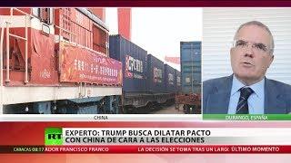 """Gambar cover Experto: """"Trump quiere escenificar que la guerra comercial con China termine con una victoria"""""""