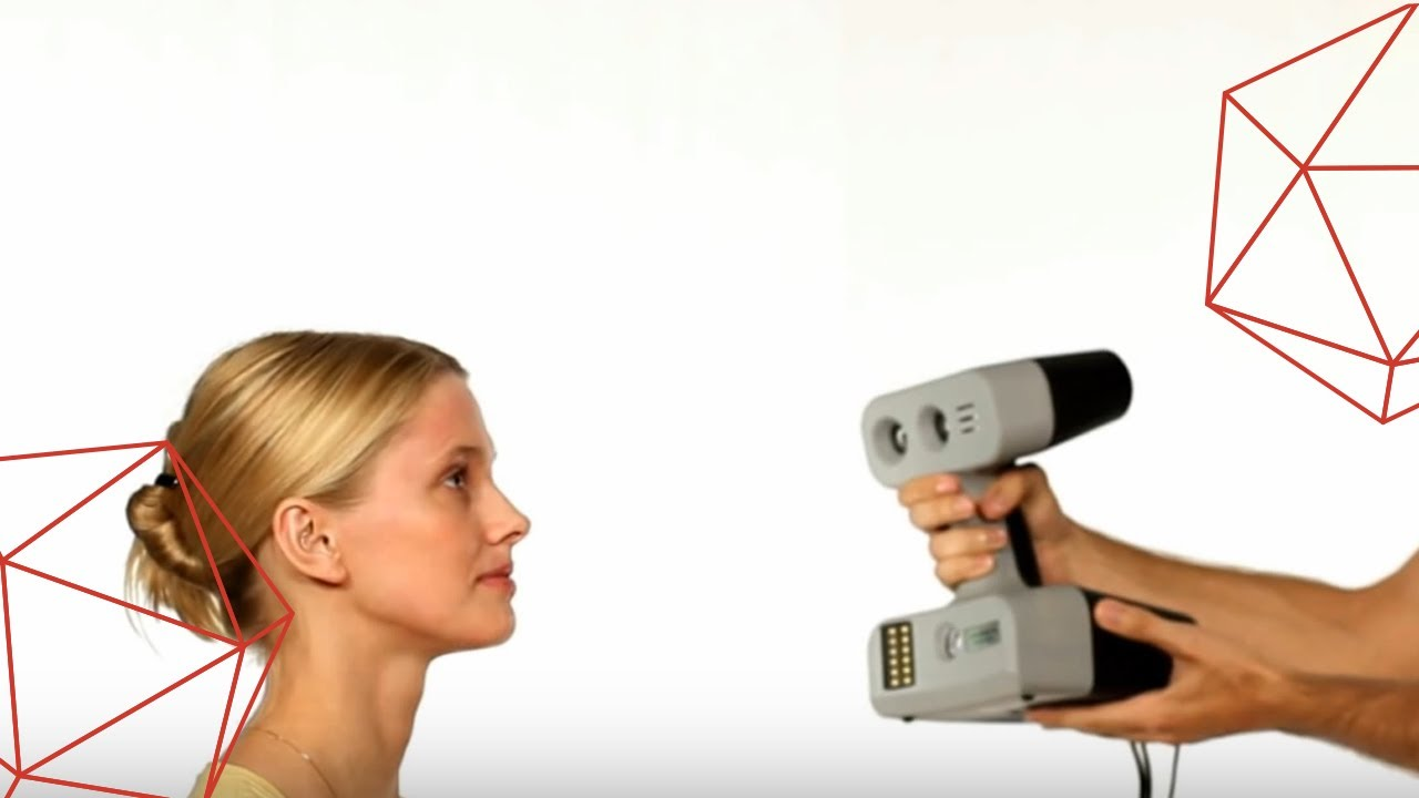 Face Scanning With Artec 3d Scanner Youtube