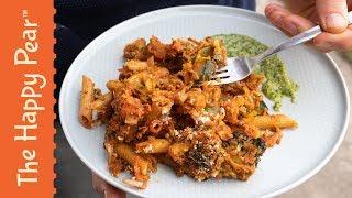 Vegan Pasta Bake with Basil Pesto | The Happy Pear