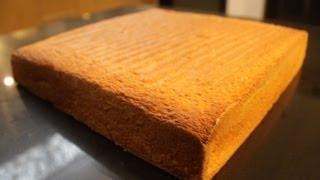 Recette du biscuit génoise inratable en 4 mins!!