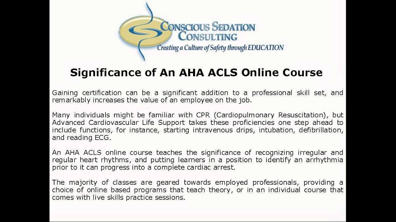 Aha acls online course youtube aha acls online course xflitez Image collections