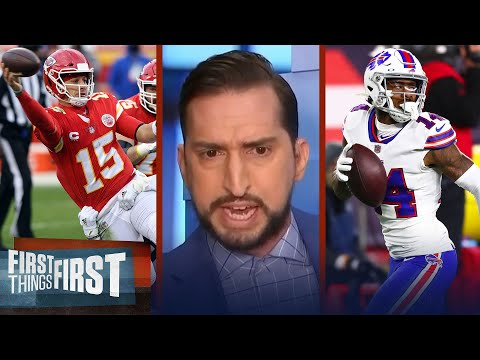 Stefon Diggs would be the only ticket for Bills to defeat Chiefs — Nick | NFL | FIRST THINGS FIRST