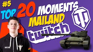 #5 Mailand TOP 20 Moments | World of Tanks