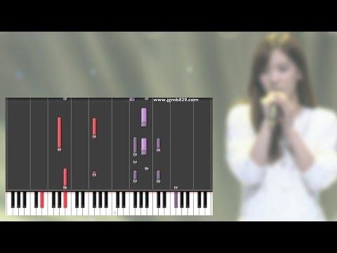 Free Download Taeyeon - Closer (가까이) Piano Mp3 dan Mp4