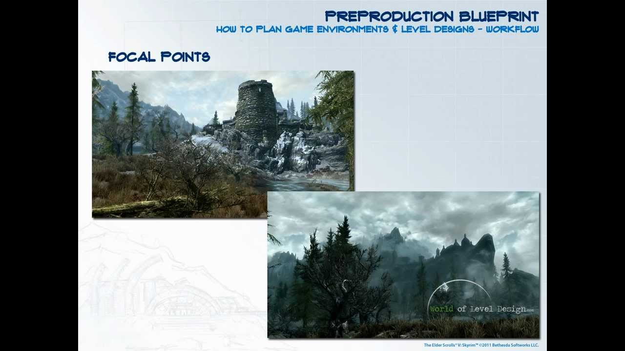 Preproduction blueprint how to plan your game environments and preproduction blueprint how to plan your game environments and level designs tutorial youtube malvernweather Choice Image