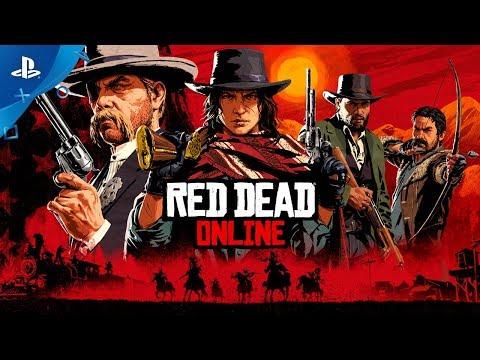 Red Dead Redemption 2 | Red Dead Online Trailer | PS4