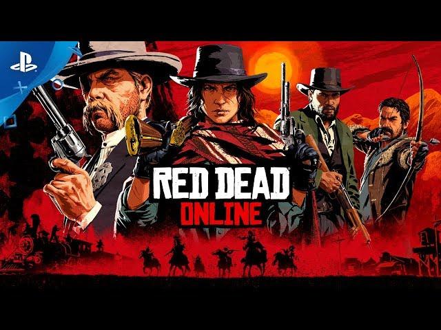 Red Dead Redemption 2   Red Dead Online Trailer   PS4