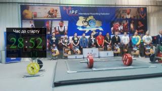 Юніори, 53-74кг, 83-93кг. Чемпіонат України з класичного пауерліфтингу.