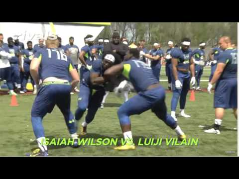 Isaiah Wilson Poly Prep in drills April 2016
