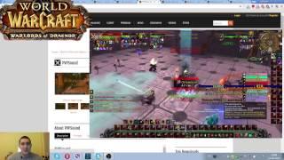 World of Warcraft Дренор основные Аддоны 6.0.3