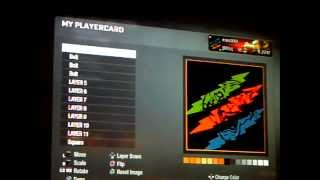 how to make the tiger emblem in black ops