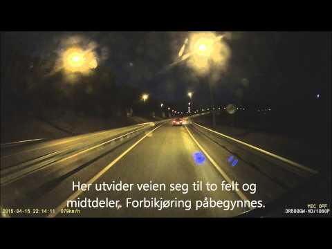 Dashcam Bodø, Ford Mondeo....