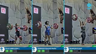 Clean and Jerk lifts comparison - Grand Prix Lima - Women - 76kg