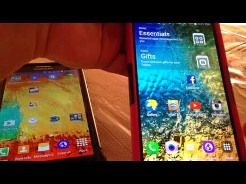 How to bluetooth connect Two Samsung Android phones