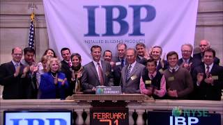 Installed Building Products Celebrates Recent Ipo