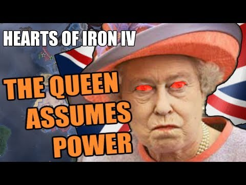 Hearts Of Iron 4: THE QUEEN SMASHES GOMMUNISM