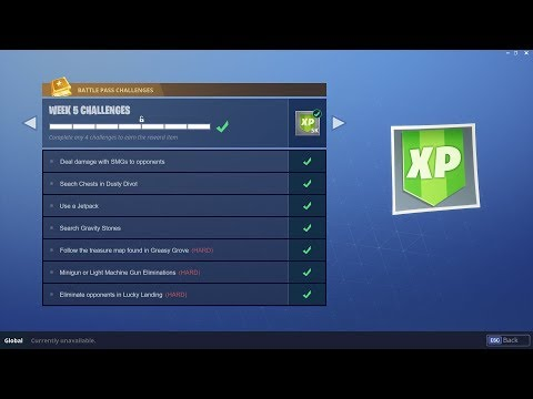 WEEK 5 CHALLENGES LEAKED! | Early Guide! | Fortnite Battle Royale