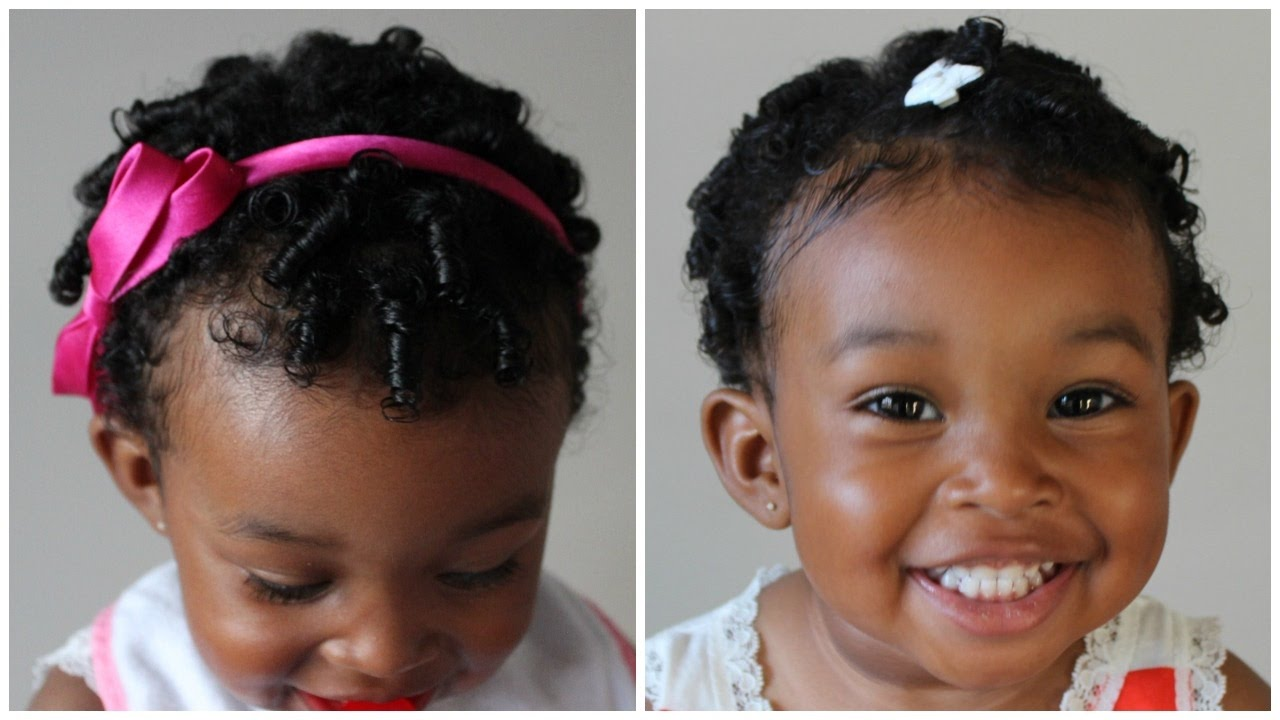 Cute Hairstyle For Toddlers Natural Hairstyle For Kids Youtube