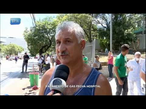 Vazamento de gás fecha hospital em Porto Alegre