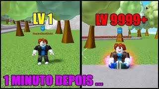 FINGINDO SER NOOB NO SUPER POWER TRAINING SIMULATOR !! (ROBLOX)
