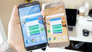 Samsung Galaxy S7 vs Galaxy S7 edge
