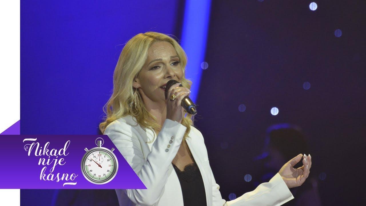 Tatjana Jovanovic - Malo mi za sricu triba - (live) - Nikad nije kasno - EM 04 - 06.11.2017