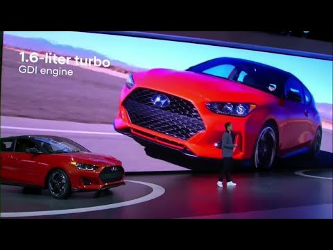 Hyundai 2019 Veloster N is automaker s first high performance N model in U.S.