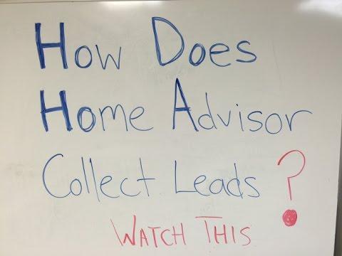 How Home Advisor Generates Leads | Lead Generation Company