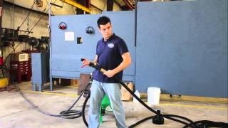 How to Use the DB150 - Dustless Blasting Equipment