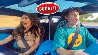 Picking Up Girls in a Bugatti Chiron! (Launch Reaction)