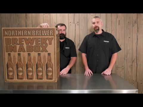 How To Homebrew With Northern Brewer Deluxe Home Brewing Starter Kit