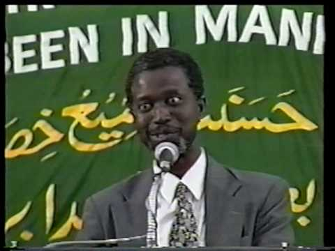 Isamic Spirituality&Problems of Modern World1/2 Dr.Nyang - YouTube