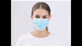 Cara membuat masker sendiri deng mudah 1,kain 2.karet #zuraimi #tutorial #belajar