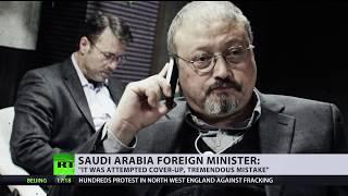 'These things unfortunately happen': Saudi FM on Khashoggi death