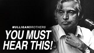 THE BEST SPEECH EVER - MOTIVATION SPEECH BY A P J Abdul Kalam
