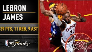 LeBron James FULL Highlights From Finals Game 3