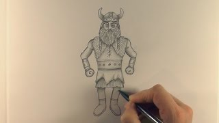 R.E.A.P: Concept Art: How to Draw a Viking Style 01