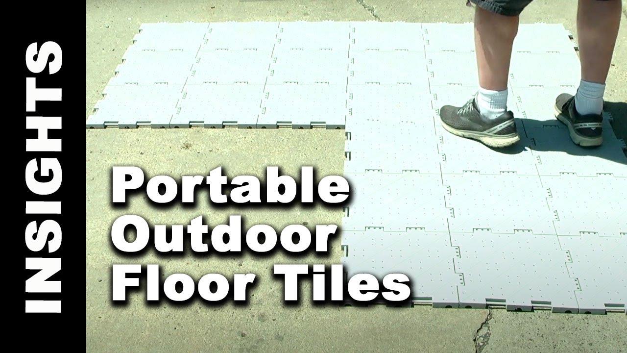 Portable Outdoor Floor Tiles For Over