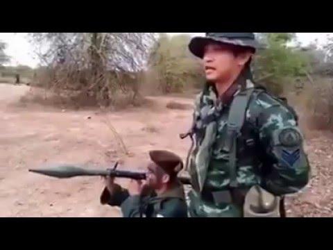 Видео тайский ракетчик