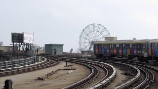 NYC Subway Coney Island