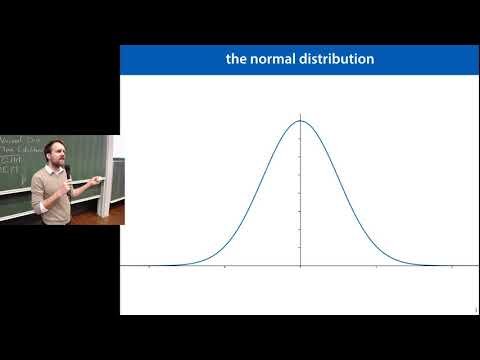 08 Probabilistic Models 2, Normal Distributions, Gaussian Mixtures and EM (MLVU2018)