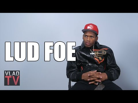 Lud Foe on His Truck Flipping 9 Times, Doing 5 Tracks w/ Jaw Wired Like Kanye (Part 1)