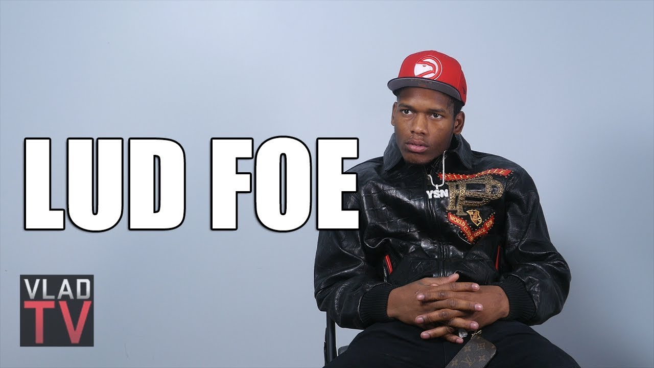 Lud Foe on His Truck Flipping 9 Times, Doing 5 Tracks w/ Jaw Wired ...