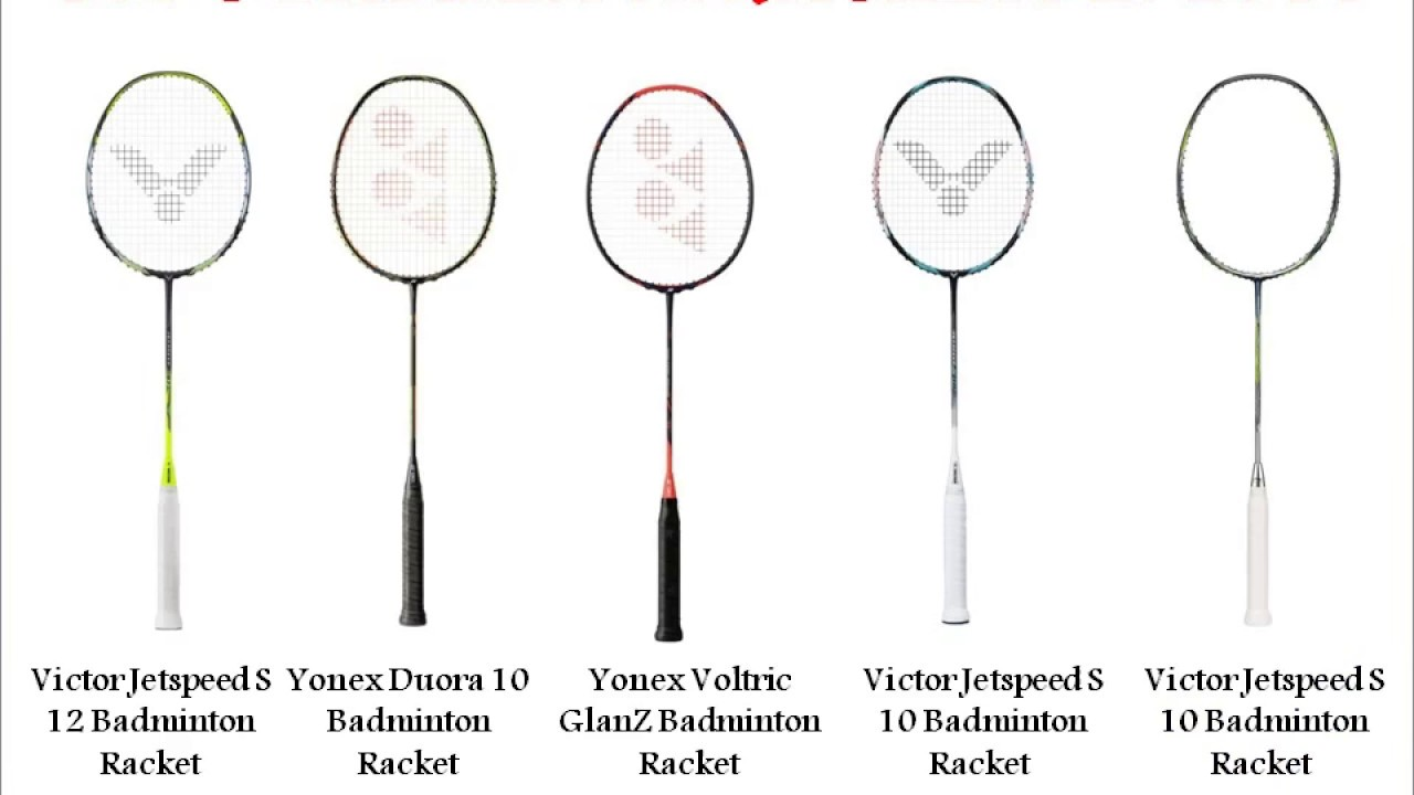 Best 5 Badminton Rackets For Year 2017