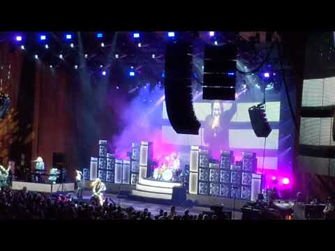 Ozzy live at blossom music center ohio Sept,16th 2018 on the nomore tours tour