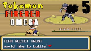Pokemon FireRed Omega Ep.5 - Mt.Moon Adventure
