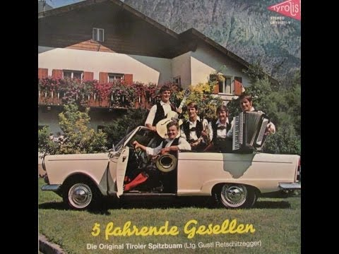 Grüss di Gott Frau Wirtin - Original Tiroler Spitzbuam 1971