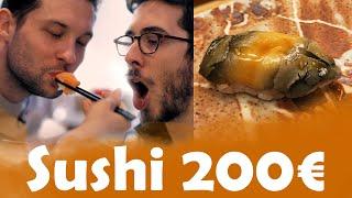 Sushi 10€ VS Sushi 200€ avec Kemar