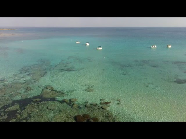 Drone footage at the blue lagoon
