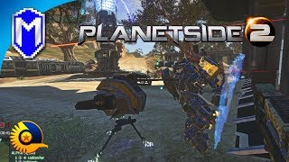 PlanetSide 2 - Getting The Spitfire Auto Turret - Let